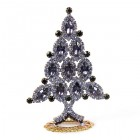 Xmas Tree Standing Decoration 2020 #10 Purple Violet