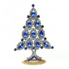 Xmas Tree Standing Decoration 2020 #10 Blue Clear